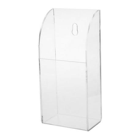 1 Grid TV Air Conditioner Remote Control Holder Case Wall Mount Storage Box