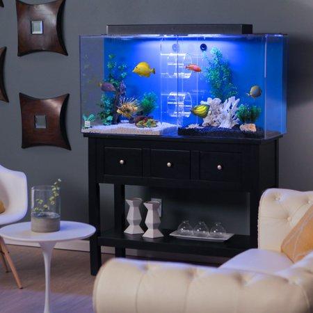 Uniquarium 75 gallon tube aquarium for Walmart 10 gallon fish tank