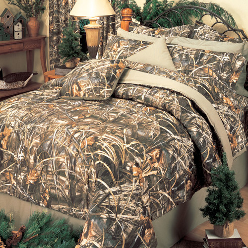 Realtree Bedding Realtree Max-4 4 Piece Comforter Set