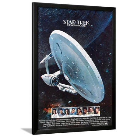 Star Trek, the Motion Picture, 1979 Framed Print Wall -