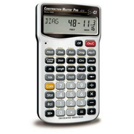 Construction Calculator Case - CALCULATED INDUSTRIES INC 4065 Construction Calculator