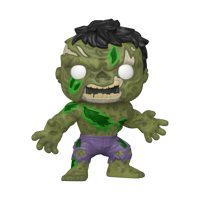 "Funko POP! Marvel: Marvel Zombies- 10"" Hulk - Walmart Exclusive"