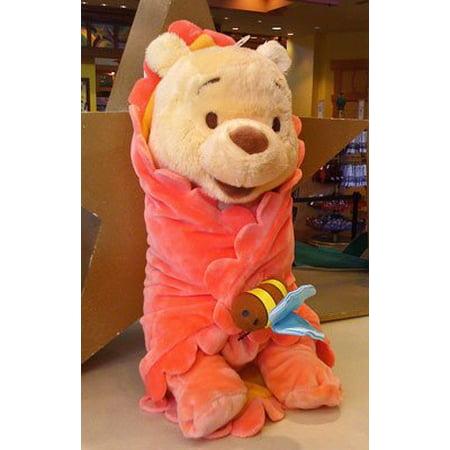 Disney Baby Winnie The Pooh In A Blanket Plush Doll