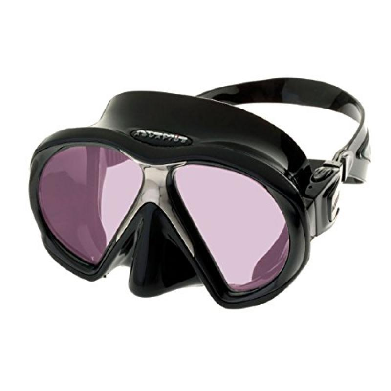 Atomic Sub Frame w/ ARC Technology Mask for Scuba Diving, Snorkeling, Spearfishing, Free diving, Black