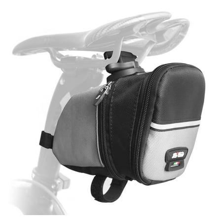 Sci Con Saddlebag - SCICON Saddlebag Anatomico Expandable 820/1610 Black - ROLLER Clamp