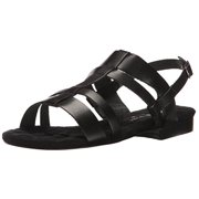 Walking Cradles Women's Frisky Gladiator Sandal, Black, 9 2W US
