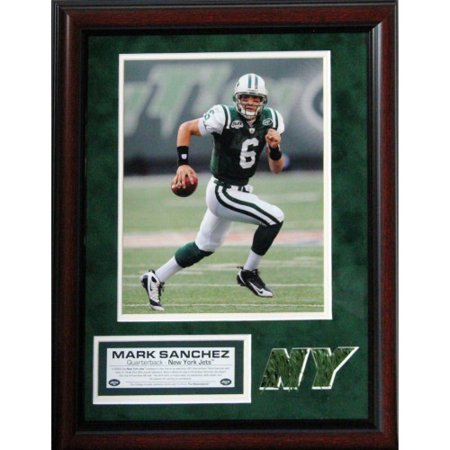 New York Jets Mark Sanchez 11x14 Unsigned Turf Collage w/ 8x10 Photo