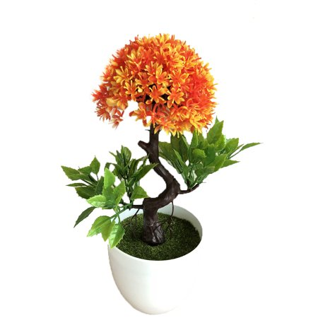 LeKing Simulate Potted Plant Simulate Simulate Onion Flower Ball Plant Rich Flower Bonsai Set Small Potted Green Plant Home Decoration Desktop Decoration Floriculture - image 2 of 3