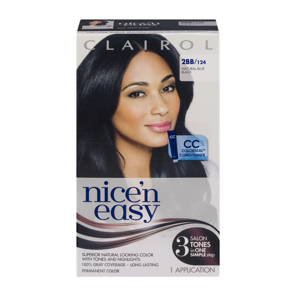 clairol nice n easy permanent color 2bb 124 natural blue