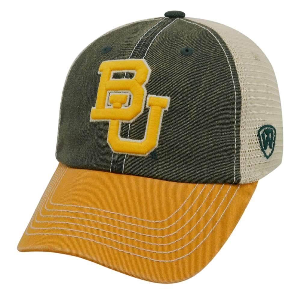 new styles 5847a ce87f ... reduced baylor bears top of the world offroad trucker hat ad8f0 b27cb