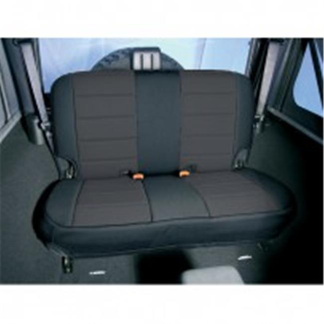 Neoprene Rear Seat Covers, 80-95 Jeep CJ And Wrangler - image 1 of 1