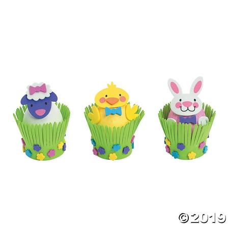 Foam Easter Egg Decorating Craft Kit (One Dozen)Easter/Crafts/Activities