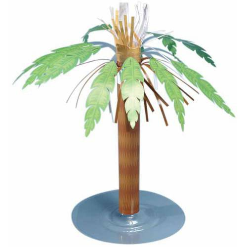 "Luau 8.5"" Paper Palm Tree"
