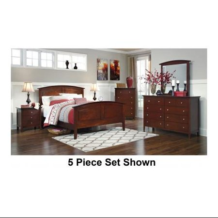 Ashley Colestead B525qset4pc 4 Piece Bedroom Set With Queen Sized Sleigh Bed Dresser Mirror And