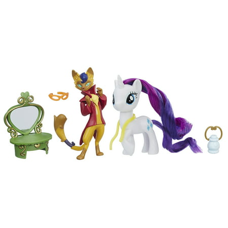 My Little Pony: The Movie Rarity & Capper Dapperpaws Styling Friends