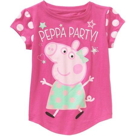 2e79522a Peppa Pig - Toddler Girls' Short Sleeve Graphic Tee Shirt - Walmart.com