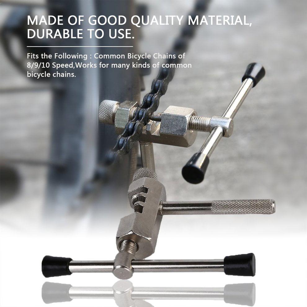 Bicycle Chain Breaker Steel Cycling Chains Splitter Cutter Bike Repair Tool Acc