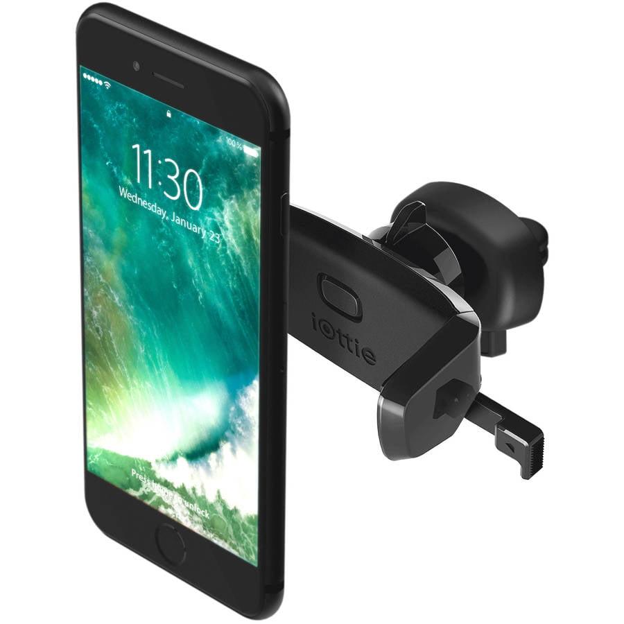 iOttie Easy One Touch Mini Vent Universal Car Mount Holder Cradle for iPhone 5/5C/5S/6/6S/SE, 6/6SPlus, Galaxy S5/S6/S7, S6/S7Edge, Note 4/5/Edge
