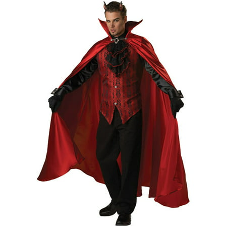 Devil Handsome Adult Halloween Costume](Handsome Halloween Costumes)