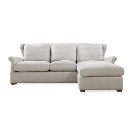 Beaumont Lane Upholstered Sofa Chaise with Ottoman - Walmart.com on chaise sofa sleeper, chaise recliner chair, chaise furniture,