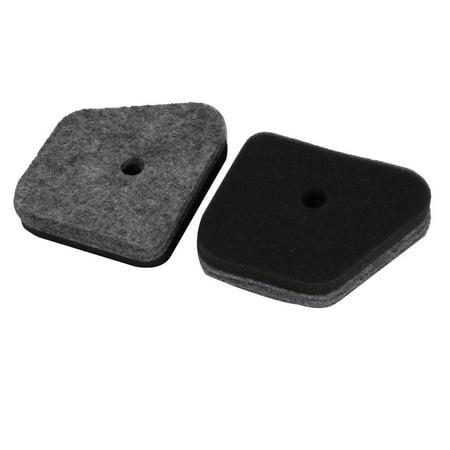 Unique Bargains 2 pcs Replacement Parts Cotton Air Filter Cleaner for FS45 Chainsaw Mower - image 3 de 3