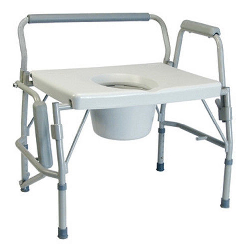 Lumex Imperial Collection 3-in-1 Steel Drop Arm Co Drop Arm Commode