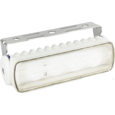 Hella #980573021 Flood Light, LED, 550 Lumen, White