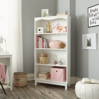 Sauder Storybook 4-Shelf Bookcase, Multiple Finishes