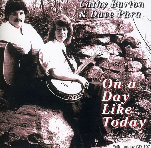 Cathy Barton & Dave Para - On a Day Like Today [CD]