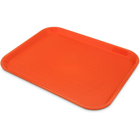 "Carlisle CT121614 Caf Standard Cafeteria / Fast Food Tray 12"" x 16"" Blue (Pack of 24)"