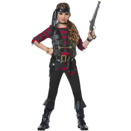 Renegade Pirate Child Costume](Pirate Girl Costume Kids)