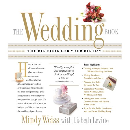 The Wedding Book : The Big Book for Your Big Day - Big Day