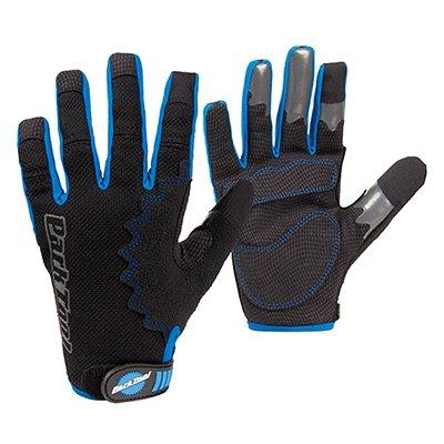 Park Tool GLV-1 Mechanics Glove: XX Large, Black/Blue