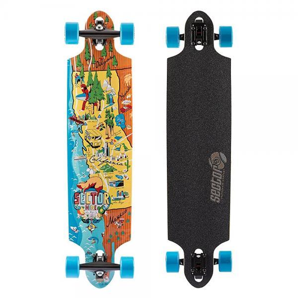 Sector 9 Traveler Complete Skateboard, Assorted