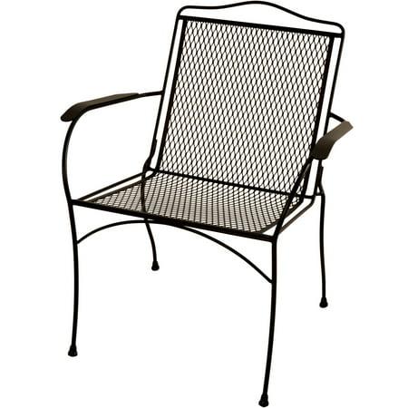 Arlington House Wrought Iron Chair Walmart Com