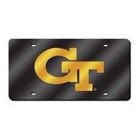 Georgia Tech Yellowjackets NCAA Laser Cut License Plate Cover