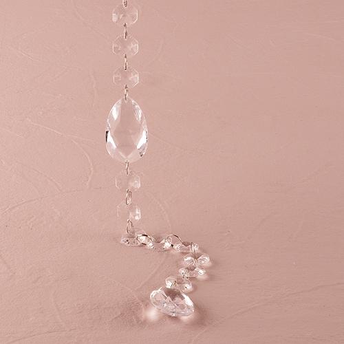 Acrylic Crystal Garland with Prism Drops Wedding Decor