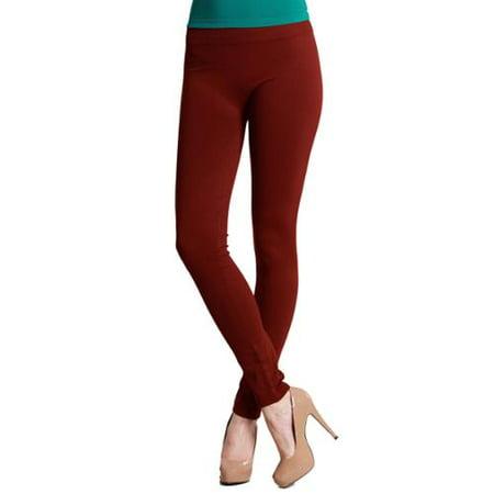 0220cf394647cd Nikibiki - Nikibiki Women's Plain Jersey Ankle Length Leggings ...