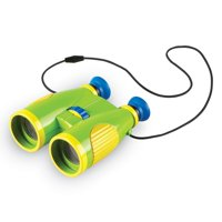 Learning Resources Primary Science Big View Roof Prism Binoculars (Green, Yellow & Blue)