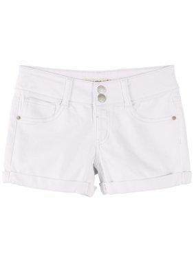 Vanilla Star Big Girls Solid Denim Shorts