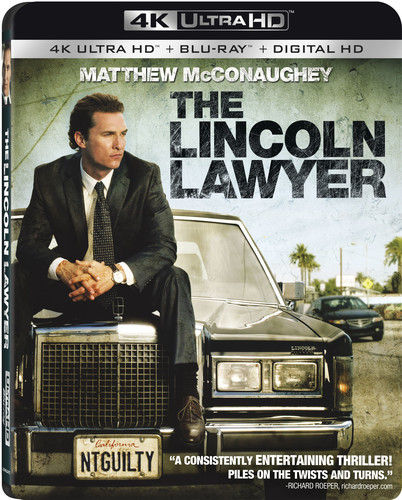 The Lincoln Lawyer (4K Ultra HD + Blu-ray + Digital HD)