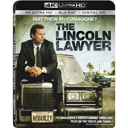 The Lincoln Lawyer  4K Ultra Hd   Blu Ray   Digital Hd