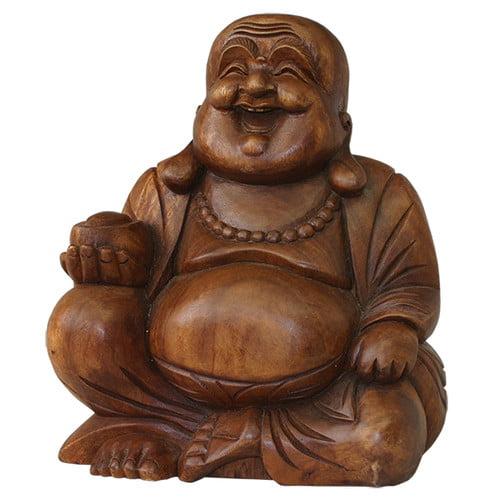 Cohasset Gifts & Garden Chinese Jolly Buddha Statue