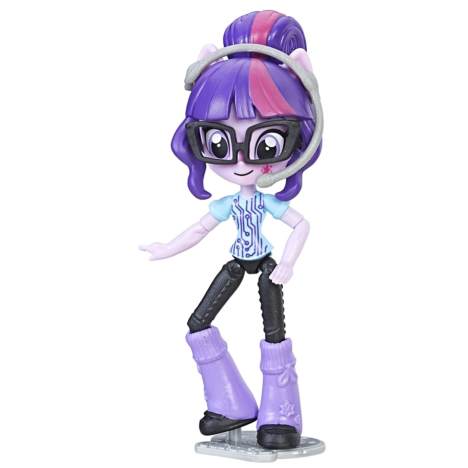 Equestria Girls Mall Collection Twilight Sparkle, Poseable with 9 points of articulation By My Little Pony