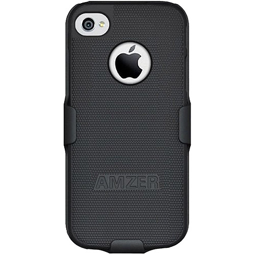 Amzer Shellster Case with Holster for iPhone 5