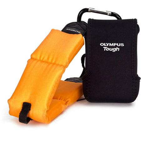 Olympus Tough Pack Kit - Case for camera - black - for Olympus TG-810; Stylus Tough TG-320; Stylus Tough TG-630, 810; Tough TG-320, 620, 810,