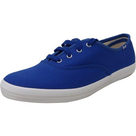 Keds Women's Champion Solids Blue Canvas Sneaker - 8M ()