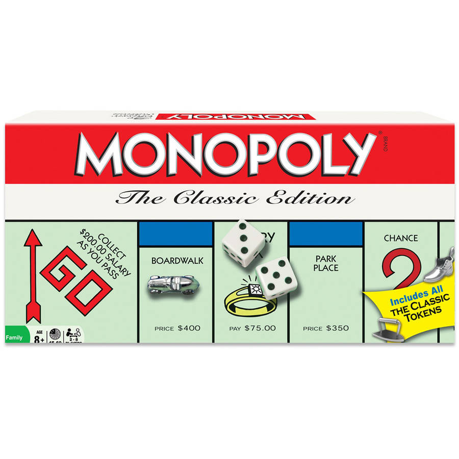 Winning Moves Monopoly The Classic Edition by Winning Moves