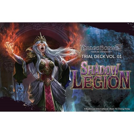 Dragoborne Rise to Supremacy: Shadow Legion Trial Deck, The tides of chaos have begun to spread. A dark host marches upon the realm of the living, and.., By Bushiroad Ship - Tide Deck