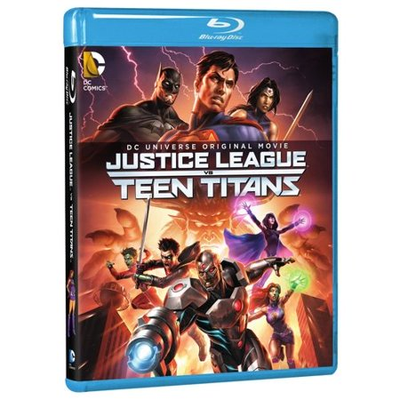 Dc Universe Original Movie  Justice League Vs Teen Titans  Blu Ray   Digital Hd   With Instawatch